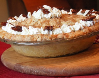 How about a slice of Maple-Pecan Apple Pie for dessert?