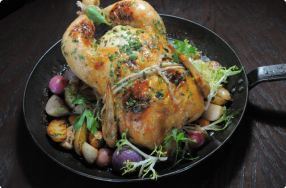 Roasted Chicken Pot-au-Feu