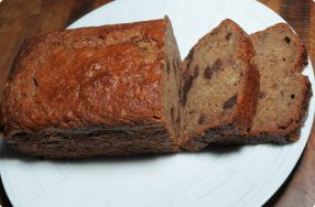 Gluten-Free Banana & Chocolate Chip Bread