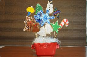 Holiday Cookie Bouquet