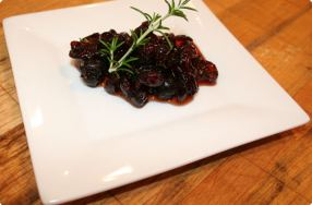 Cranberry Compote w/ Rosemary