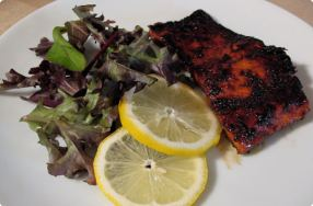 Arika's Sweet & Smoky Rubbed Alaskan Salmon