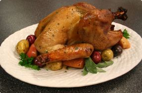 Cider-Brined Maple-Glazed Turkey