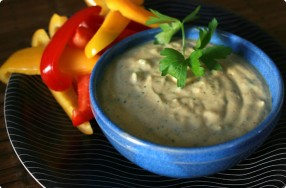 Curry Tofu Dip
