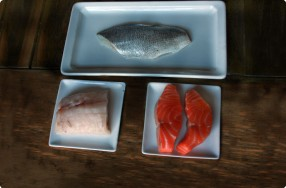 Fish Education: Monkfish, Salmon & Branzino