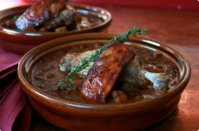 Cajun Duck Cassoulet