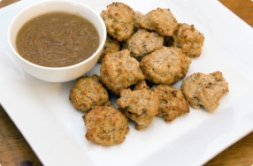 Sausage Fritters