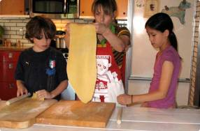 Kids Make Fresh Pasta