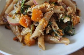 Whole Grain Pasta w/ Squash, Fontina & Parmesan