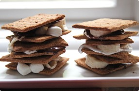 Banana & Whole Wheat S'mores