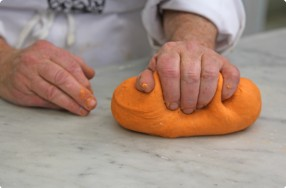 Roasted Red Pepper Pasta Dough