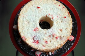 Peppermint Angel Food Cake