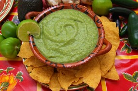 Tomatillo-Avocado Salsa