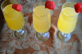 Clementine-Ginger Mimosas