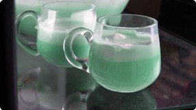 Kelsey's Shamrock Float