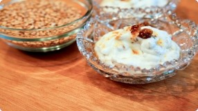Wheat Berry Fools w/ Grand Marnier Figs