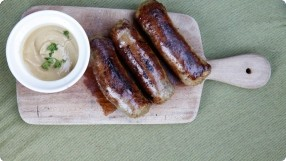 Sweet Onion Pork Sausage