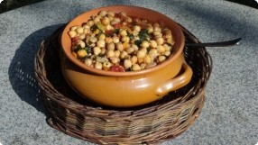 Ceci Stufati (Stewed Chickpeas)
