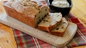 Maple Whole Grain Quick Bread