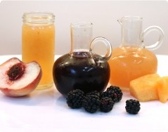 No-Cook Fruit Shrubs (Drinking Vinegars)