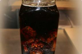 Fruitcake Brandy Infusion