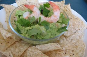 Spicy Shrimp Guacamole