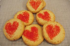 Coconut Love Cookies