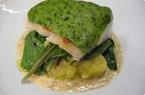 Lemon & Parsley-Crusted Hake