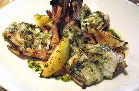 Grilled Shrimp Gremolata
