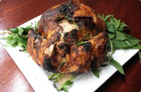 Citrus & Serrano Beer Can Chicken