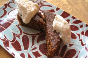 Gingerbread w/ Whipped Cream