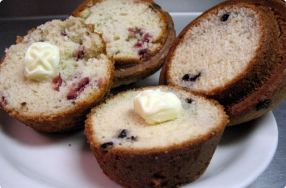 """Make Your Morning"" Blueberry Muffins"
