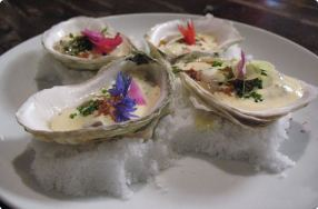 Oysters Escabeche