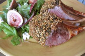 Dukkah-Crusted Rack of Lamb
