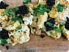 Curried Cauliflower w/ Raisin Chutney