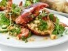Grilled Lobster with Corn & Tomato Salad