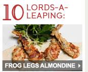 Frog Legs Almondine