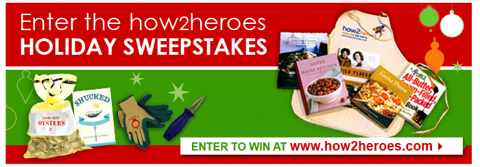 Enter the how2heroes Holiday Sweepstakes