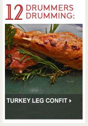 Turkey Leg Confit