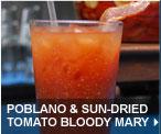 Poblano & Sun-dried Tomato Bloody Mary