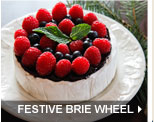 Festive Brie Wheel