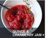 Quince & Cranberry Jam