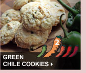 Green Chile Cookies