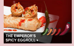 The Emperor's Spicy Eggroll'
