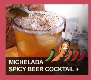 Michelada Spicy Beer Cocktail