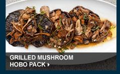 Grilled Mushroom Hobo Pack