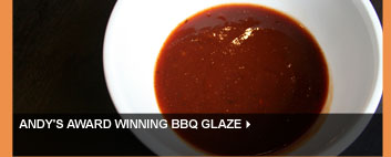 Andy's Award Winning BBQ Glaze