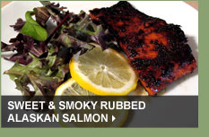Sweet & Smoky Rubbed Alaskan Salmon