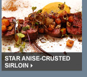 Star Anise-Crusted Sirloin