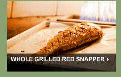 Whole Grilled Red Snapper